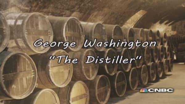 George Washington: The distiller