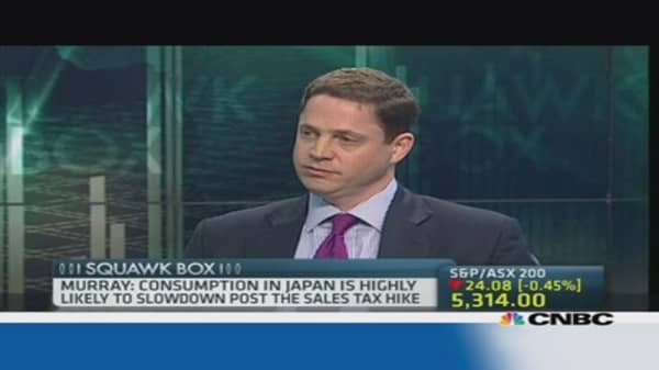 Tax hike could derail Japan's economy: Pro