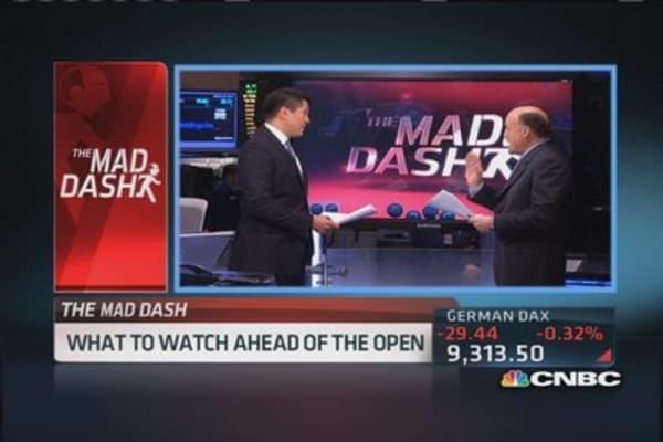 Cramer's Mad Dash: Ackman 'never finish' Herbalife