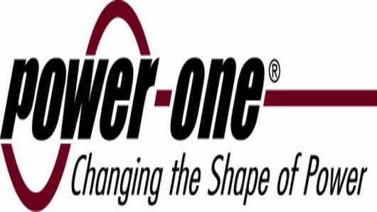 Power-One, Inc. Logo