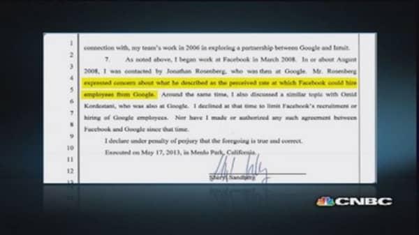 Hi-tech hiring conspiracy