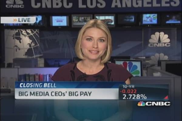 Highest paid media industry CEOs