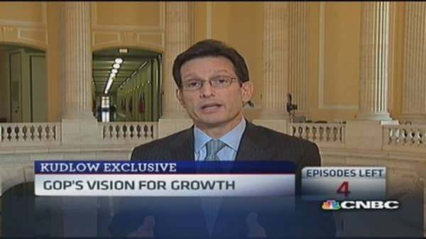 Rep. Cantor: GOP for an America that works
