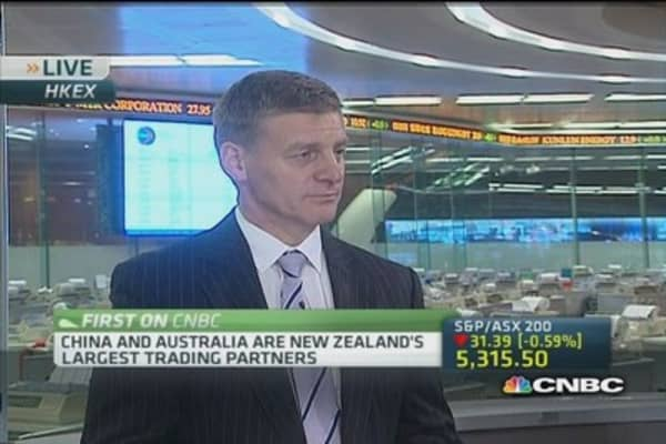 Bill English: Expect more volatility from China