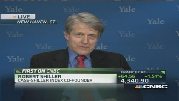 Robert Shiller: Worry housing will weaken more