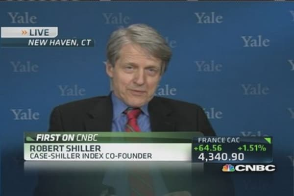 Robert Shiller: Worry housing will weaken more