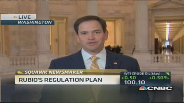 Sen. Rubio: Don't hold back Tesla
