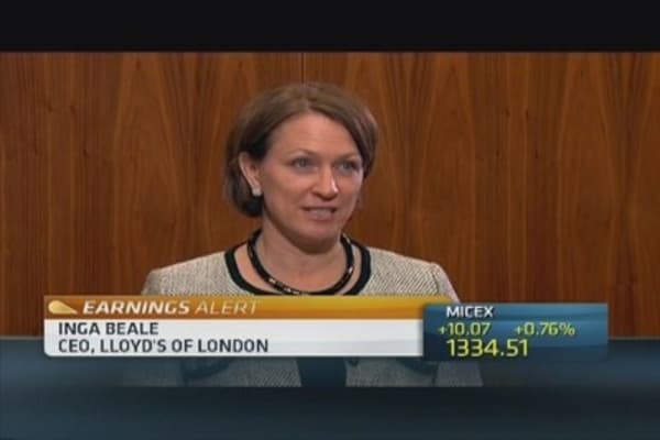 'Outstanding' year for Lloyd's of London: CEO