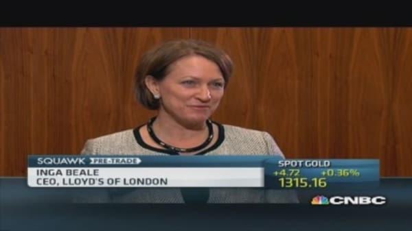 'Great statement' a female heading Lloyd's: CEO