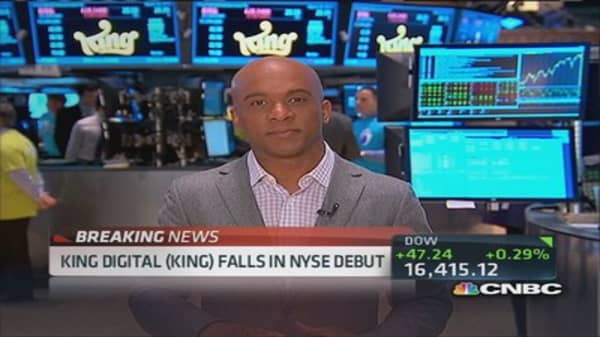 King Digital's 'game' plan