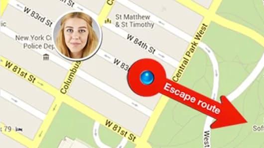 Detail from screen of Split - The Antisocial app