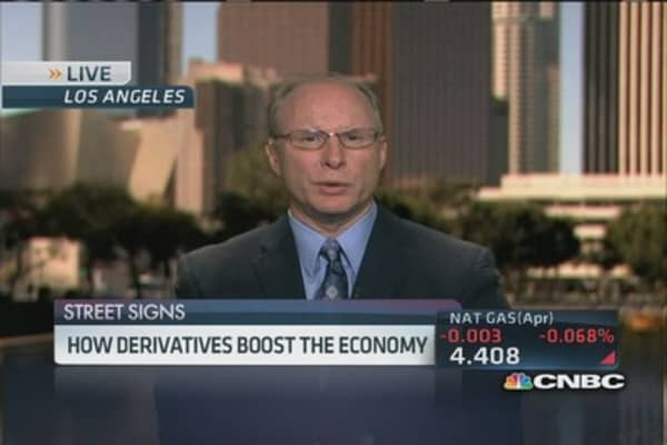 How derivatives boost economy