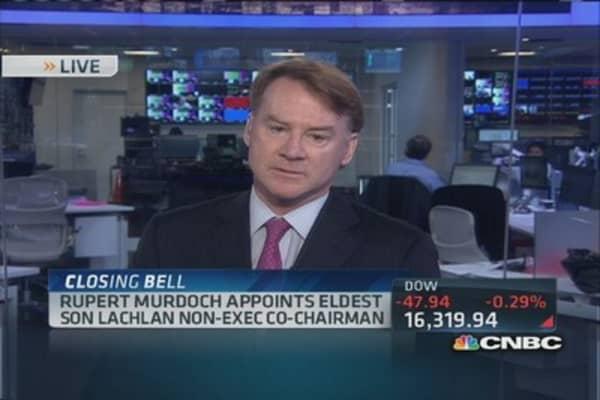 The Murdoch empire's heir apparent