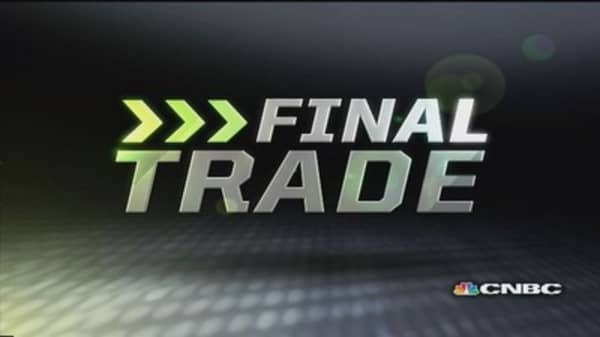 Fast Money Final Trade: C, AOL, TLT