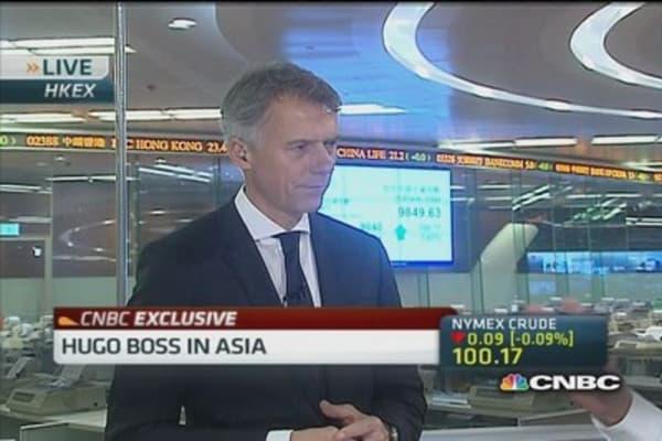 Hugo Boss: China remains challenging