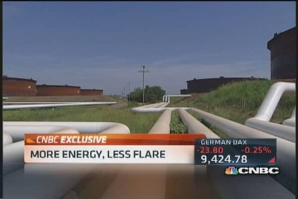 North Dakota's flare for capturing energy