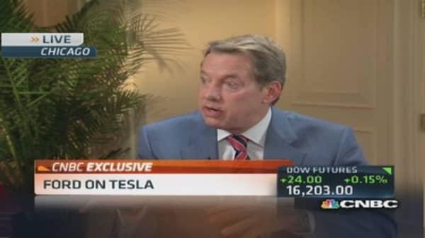 Ford eyes Tesla's disruptive model