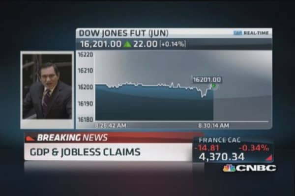 Q4 GDP (final) 2.6%, jobless claims 311,000