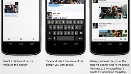 Twitter's rolling out two new mobile features that make photos on Twitter more social.