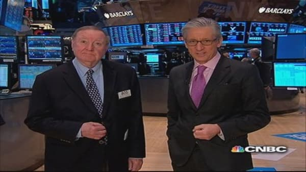 Cashin says: Market shocked into plus territory