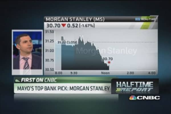 Analyst likes Morgan Stanley best