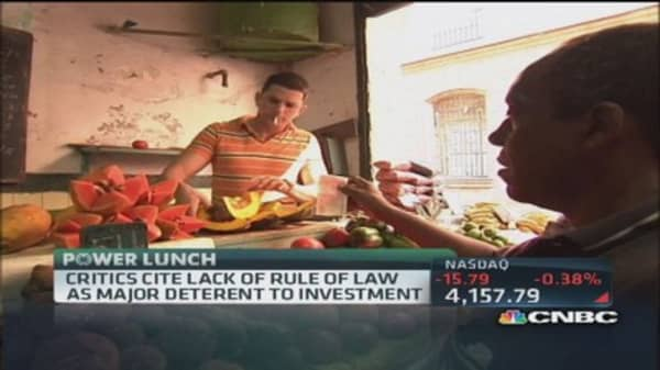 Cuba new law expected to be approved