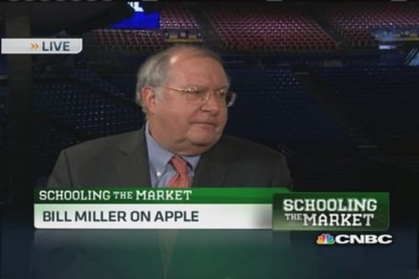 Bill Miller: My favorite is Apple