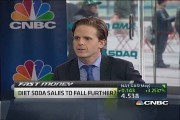Diet Coke sales sizzle