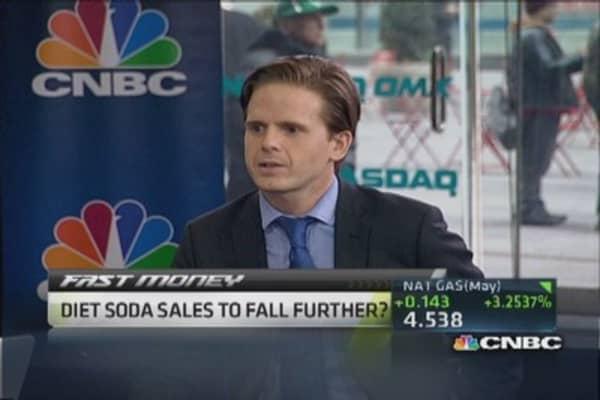 Diet Coke sales sizzle