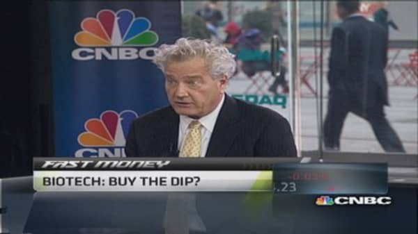 Biotech: Buy the dip?
