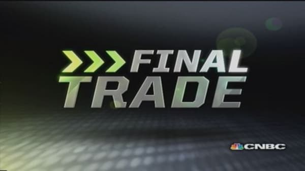 Fast Money Final Trade: TEVA, BBRY, GOOG, GRMN