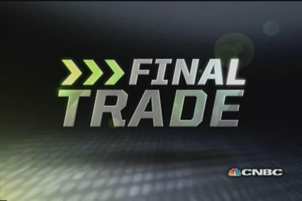 Fast Money Final Trade: TEVA, BBRY, GOOG, GRMN
