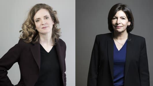 Nathalie Kosciusko-Morizet and Anne Hidalgo