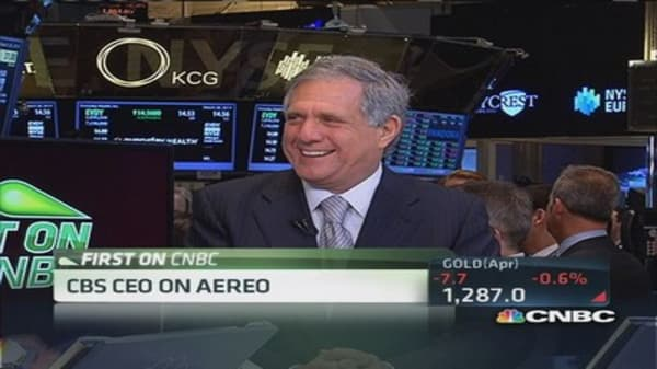 Moonves 'confident' on Aereo decision