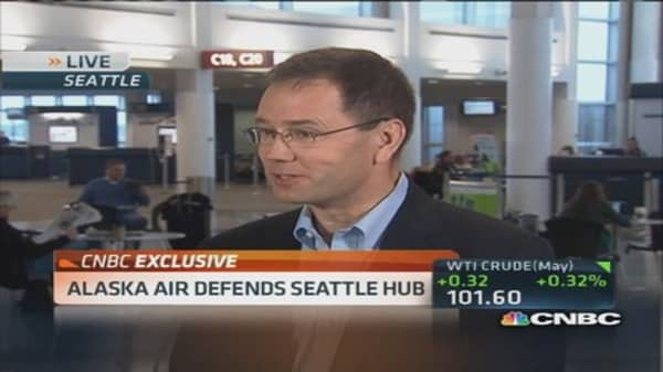Alaska Air CEO: Time for GPS connectivity