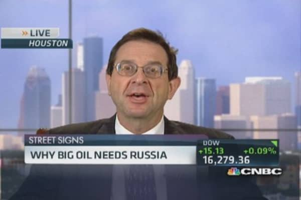 Why big oil needs Russia