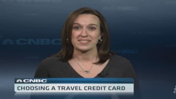 Choosing a travel credit card