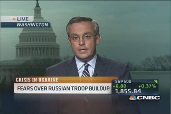 Ukraine requests military assistance