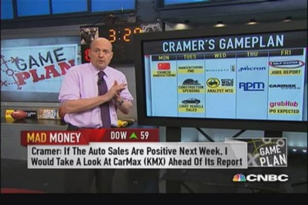 Strong jobs report could rally financials: Cramer