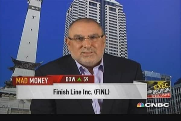 Finish Line CEO on remarkable quarter