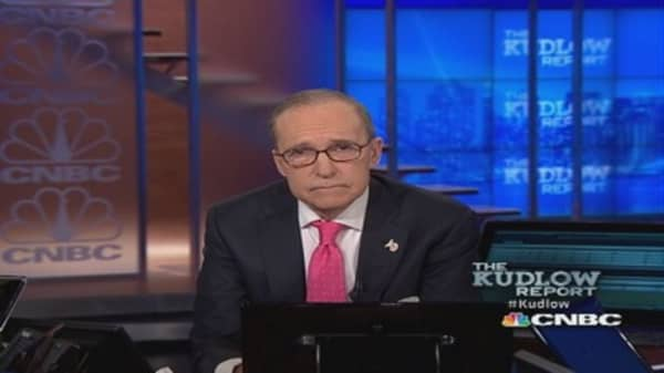 Larry Kudlow offers gratitude and thanks