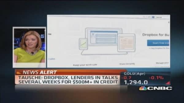 Dropbox gets credit