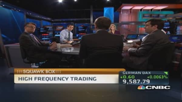 High frequency trading has issues: Pro