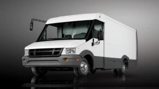 Utilimaster's Reach Walk-in Van