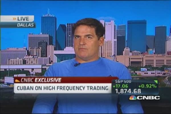 Mark Cuban: No idea how bad HFT could be if something goes wrong