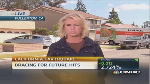 Californians face expensive earthquake insurance