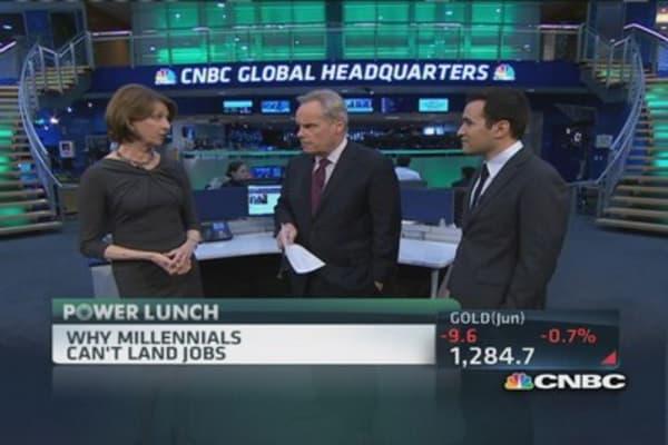 Why millennials can't find jobs