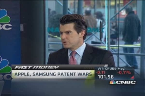 Patent wars: Apple vs. Samsung