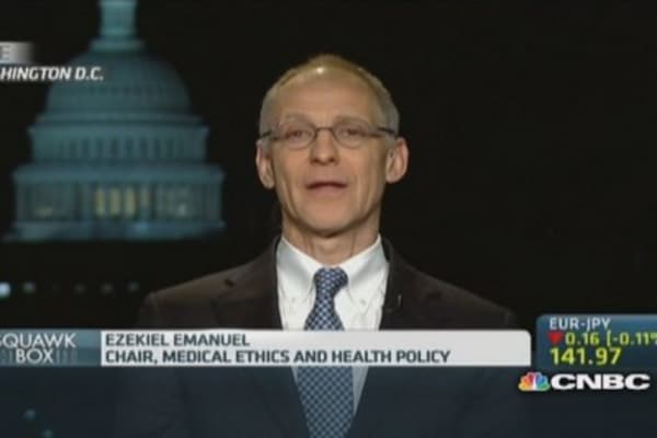 Obamacare seeing progress: Pro