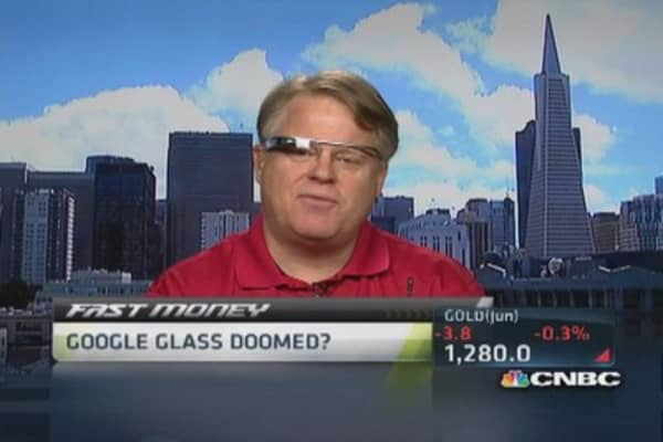 Google glass fanatic changes tune